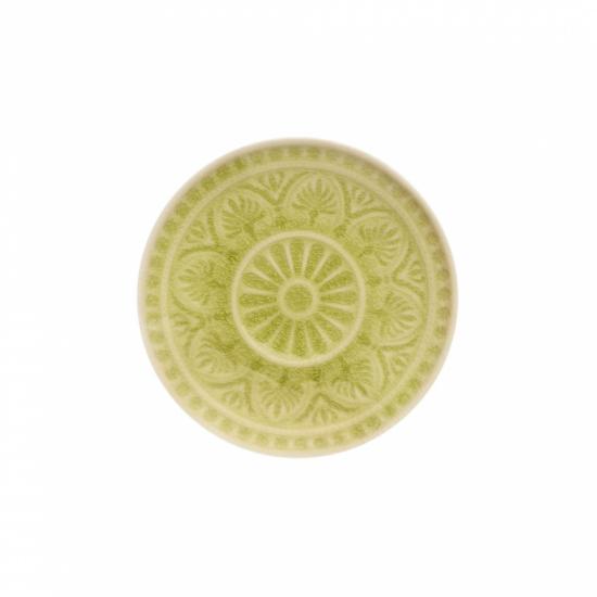 SUMATRA tányér 14cm lime