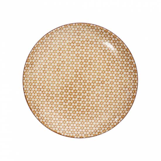 RETRO tányér sárga 25.4cm