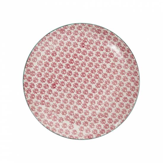 RETRO tányér piros 25.4cm