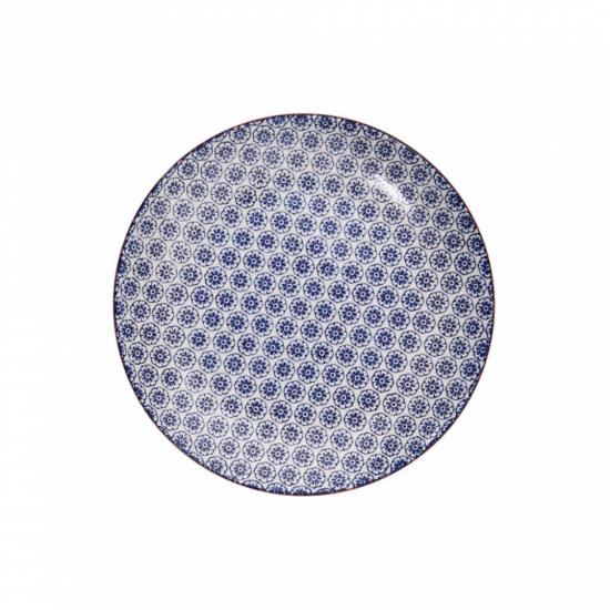 RETRO tányér kék 20.3cm