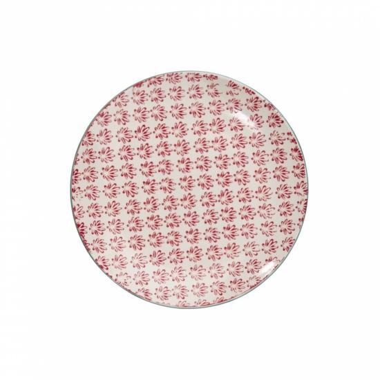 RETRO tányér piros 20.3cm