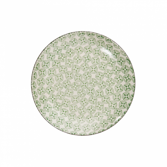 RETRO tányér zöld 20.3cm
