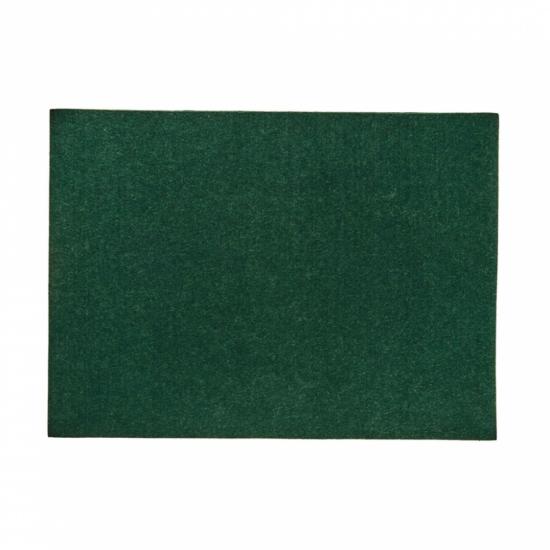 FELTO alátét sötétzöld 33x45cm