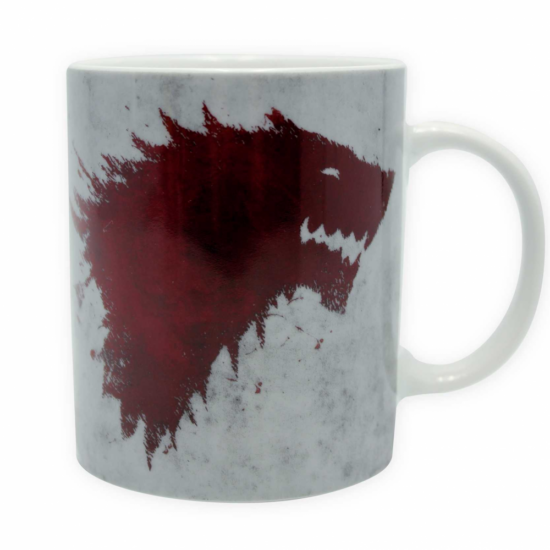 GAME OF THRONES - bögre - 320 ml - The North remembers
