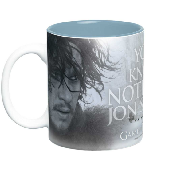 GAME OF THRONES - bögre - 460 ml - You Know Nothing