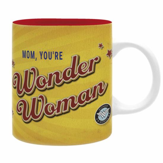 "DC COMICS - bögre - 320 ml - ""Wonder Woman"" - subli"