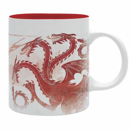"GAME OF THRONES - bögre - 320 ml - ""Red Dragon""- subli"
