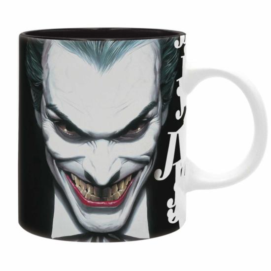 DC COMICS - Bögre - 320 ml - Joker nevet - subli -