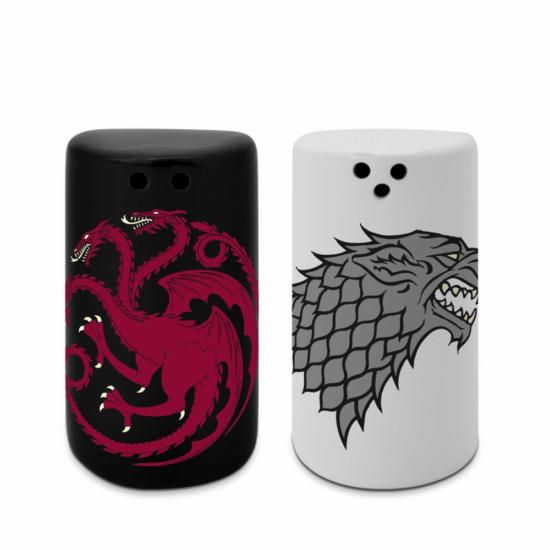 Só- és borsszóró - Stark & Targaryen