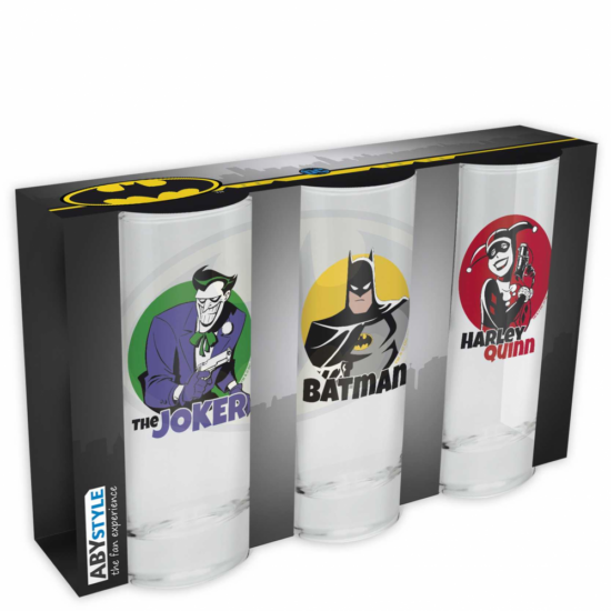 DC COMICS - pohárszett *