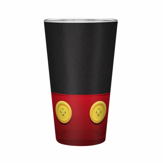 Disney - XXL üvegpohár - 460 ml - Mickey - Matt