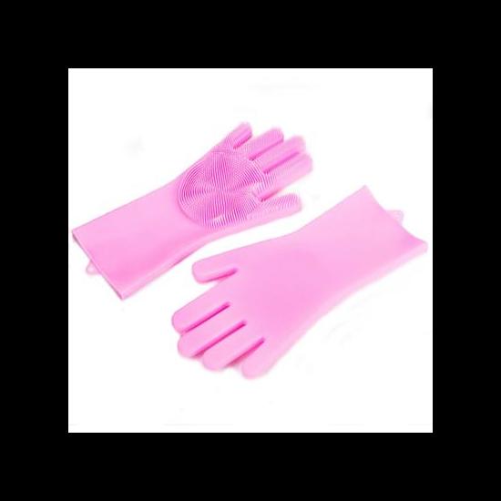 Menő mosogató kesztyű csajsziknak - rózsaszín
