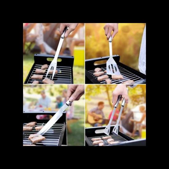 Szabadban grillezős eszköz készlet 9 részes