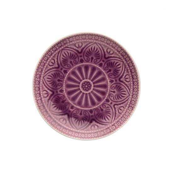 SUMATRA tányér 21cm lila