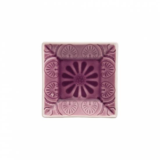 SUMATRA tálka szögletes lila 9x9cm