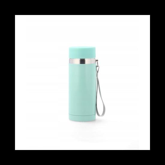 220 ml-es világos babakék színű termosz