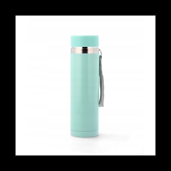 320 ml-es világos babakék termosz