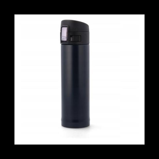 350 ml-es fekete színű termosz
