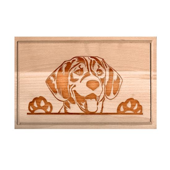 Beagle vágódeszka - XXL