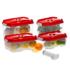 Status 5 db-os vákuumtároló doboz szett (1,4L+2L+3L+4,5L+ kézi pumpa)