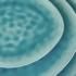 DE LA ROYA tálaló tál 33,5x29cm kék