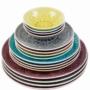 Kép 3/7 - SUMATRA tányér 31cm lila