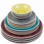 Kép 6/7 - SUMATRA tányér 31cm lila