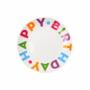 Kép 1/6 - HAPPY BIRTHDAY tányér