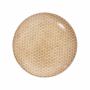 Kép 2/7 - RETRO tányér sárga 25.4cm