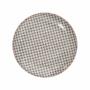 Kép 2/7 - RETRO tányér fekete 25.4cm