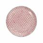 Kép 2/7 - RETRO tányér piros 25.4cm