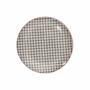 Kép 1/7 - RETRO tányér fekete 20.3cm