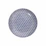 Kép 2/6 - RETRO tányér kék 20.3cm