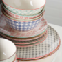 Kép 7/7 - RETRO tányér piros 20.3cm