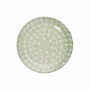 Kép 2/7 - RETRO tányér zöld 20.3cm