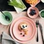 Kép 7/7 - HANAMI desszertes tányér pink 20cm
