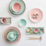 Kép 6/7 - HANAMI tányér pink 25.5cm