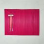 Kép 3/5 - TABULA alátét bambusz piros