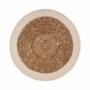 Kép 1/4 - SAUVAGE alátét natúr fehér szegéllyel 38cm