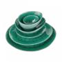 Kép 4/7 - DE LA ROYA tányér 28,7x24cm sötét zöld