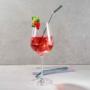 Kép 4/4 - LONG DRINK üveg szívószál 4db színes