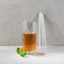 Kép 3/3 - LONG DRINK üveg szívószál 4db átlátszó