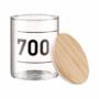 Kép 6/6 - WOODLOCK üveg tartó 700ml feliratos