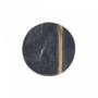 Kép 3/5 - MARBLE márvány alátét 10cm fekete/arany