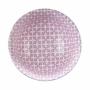 Kép 4/6 - ORNAMENTS bögre kék kék/pink ezüst szegéllyel 520ml