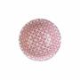 Kép 4/6 - ORNAMENTS tálka kék/pink ezüst szegéllyel 240ml