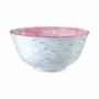 Kép 1/6 - ORNAMENTS tálka kék/világos pink 520ml