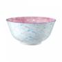 Kép 3/6 - ORNAMENTS tálka kék/világos pink 520ml