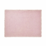 Kép 6/6 - RAW CANVAS alátét rojtokkal rózsaszín