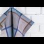 Kép 5/6 - TEA Kék színű konyharuha evőeszköz mintával 50*70 cm